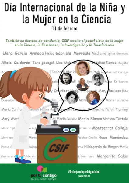 11 de febrero, Día Internacional de la Niña y la Mujer en la Ciencia