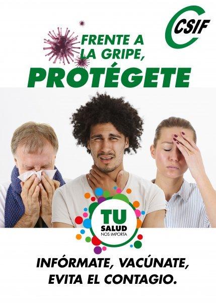 Frente a la gripe, PROTÉGETE