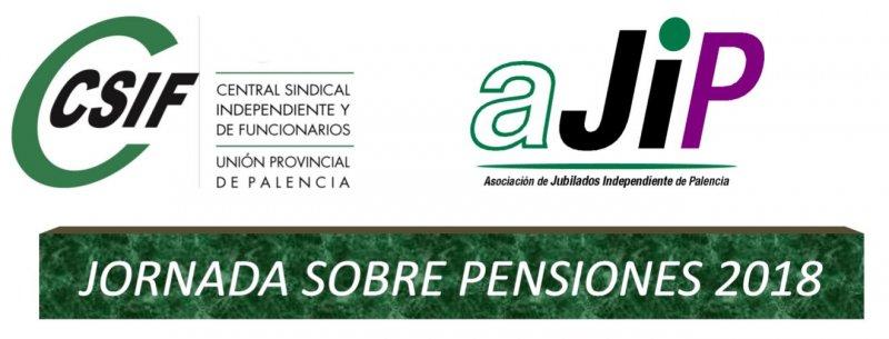 cartel jornada sobre pensiones