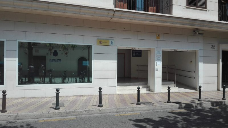 Oficina DNI calle Hospital, en Valencia