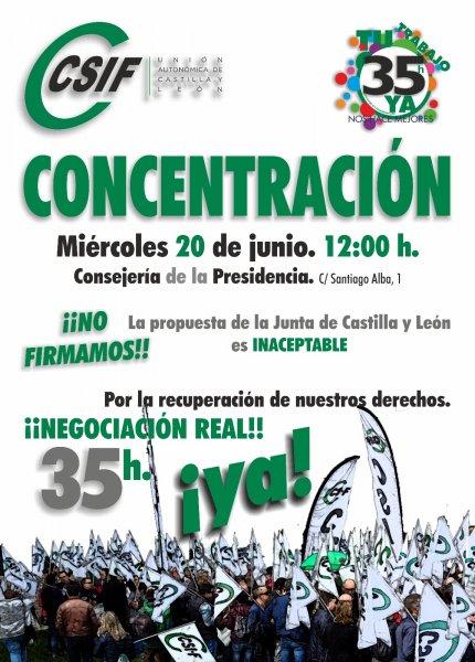 Concentración 20 de junio