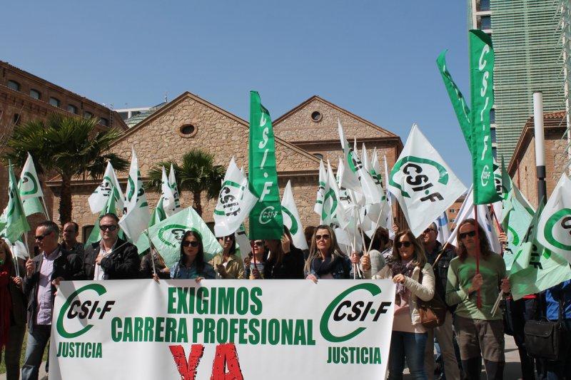 Los trabajadores de Justicia volverán a salir a la calle