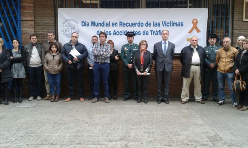 CSI·F ha participado en la concentración de hoy ante la sede de Tráfico en Valencia