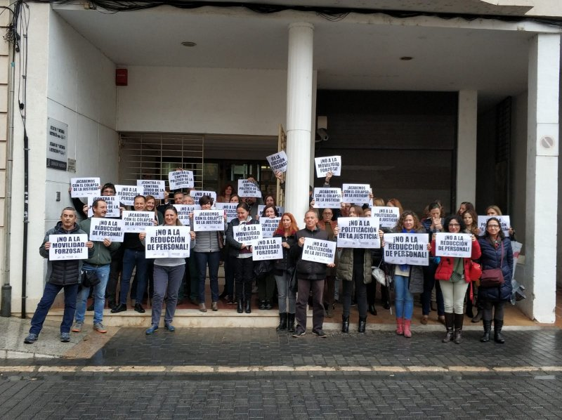 Concentración juzgados Alzira