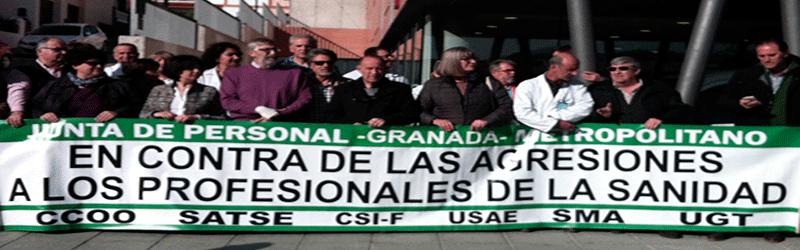 CSIF Granada muestra su repulsa por una nueva agresión en Íllora