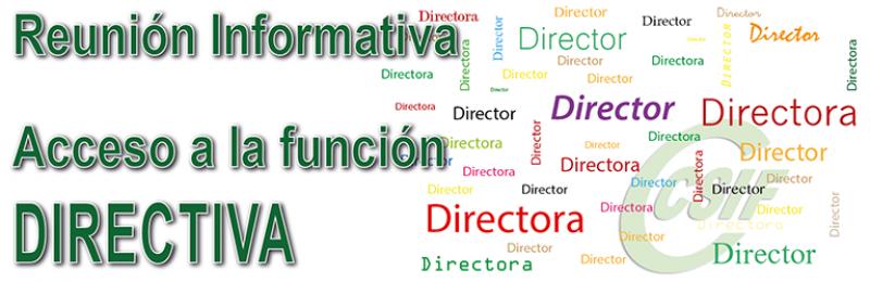 Reuniones informativas para el ACCESO A LA FUNCIÓN DIRECTIVA