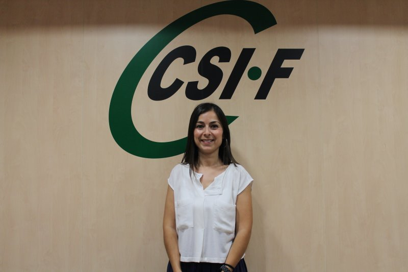 Cruz García, delegada de CSIF Justicia Valencia