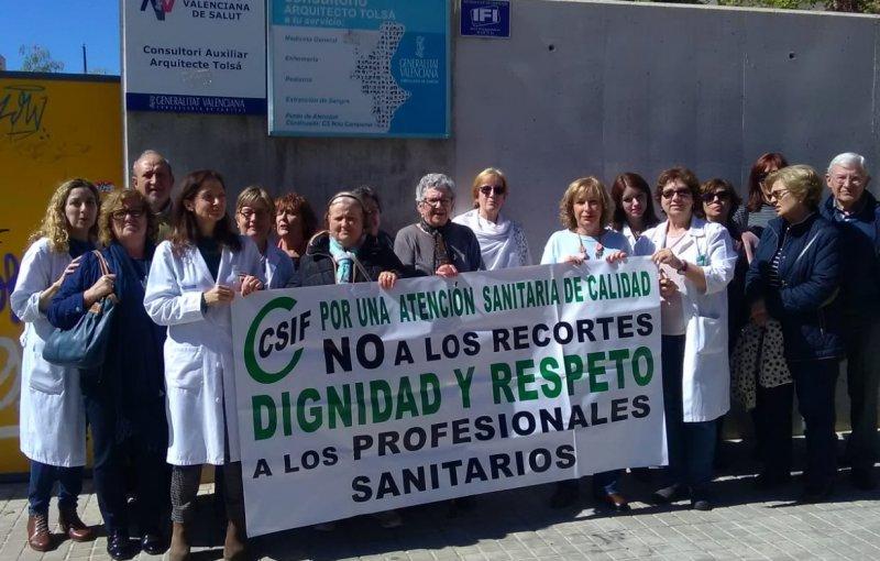 Consultorio auxiliar Arquitecto Tolsa, en Valencia