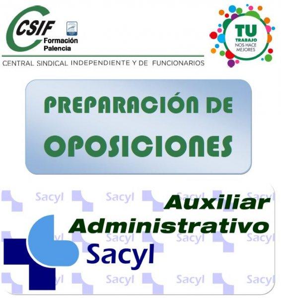 Curso Auxiliar Administrativo Sacyl