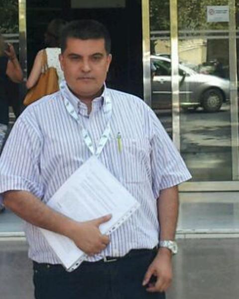 Fernando García, delegado de CSI·F en el Hospital Doctor Moliner