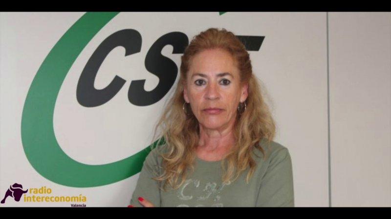 Dolly Prunés, presidenta de Sanidad de CSIF Comunidad Valenciana