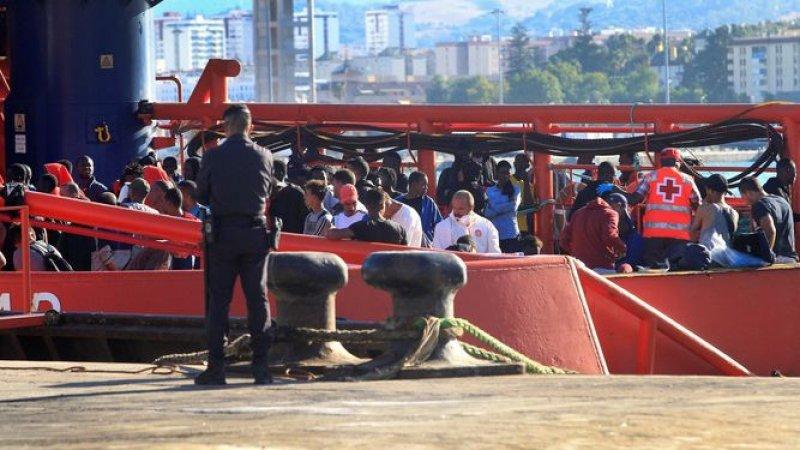 Inmigración en el Campo de Gibraltar.