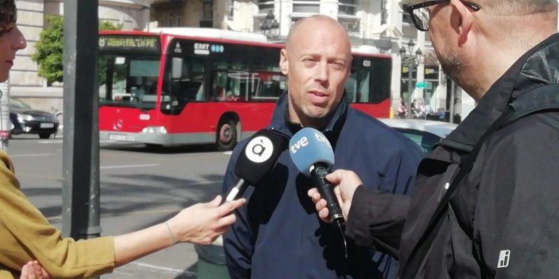 Emilio Rodríguez, delegado de CSIF en el Ayuntamiento de Valencia