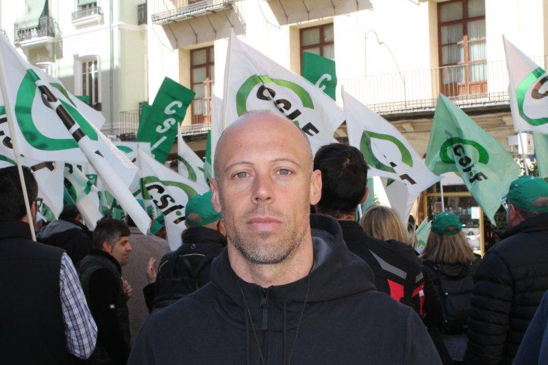 Emilio Rodríguez, delegado de CSIF Policía Local Ayuntamiento de Valencia