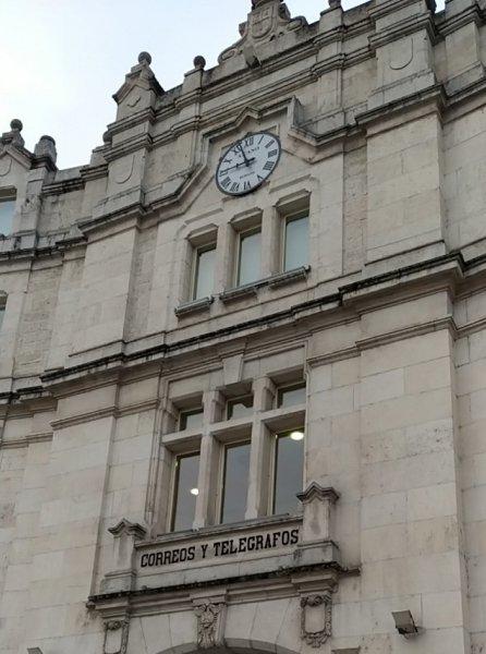 Oficina central de Correos en Burgos