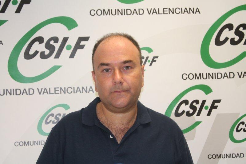 Ezequiel Archilla, presidente de CSIF Administración General del Estado Comunidad Valenciana