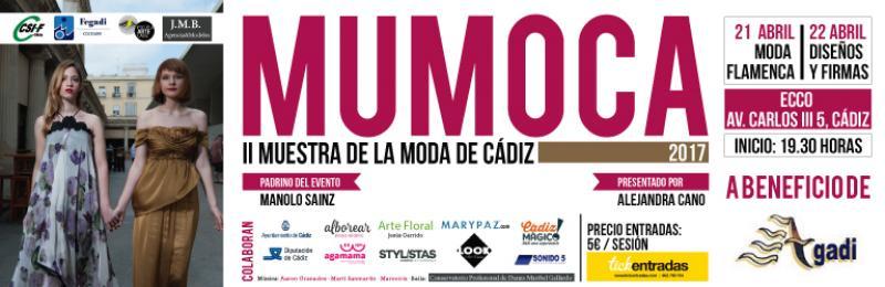 La II Muestra de Moda Solidaria de Cádiz –MUMOCA- se celebrará los días 21 y 22 de abril