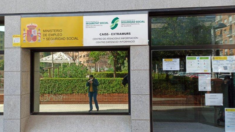 Oficina del CAISS en Juan Llorens, en Valencia