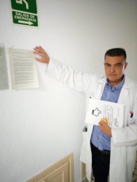 Fernando García, delegado de CSIF en hospital Doctor Moliner