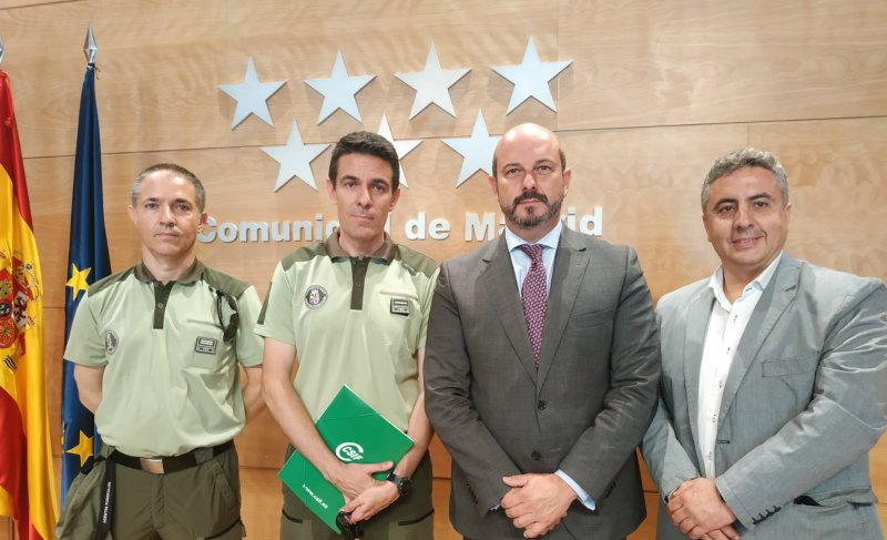 CSIF con Pedro Rollán Acuerdo Agentes Forestales