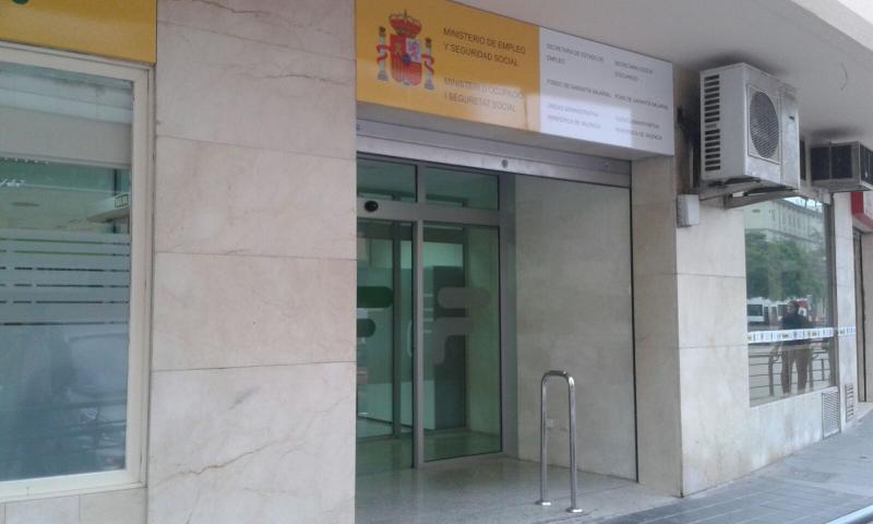 Nueva sede del Fogasa en la provincia de Valencia
