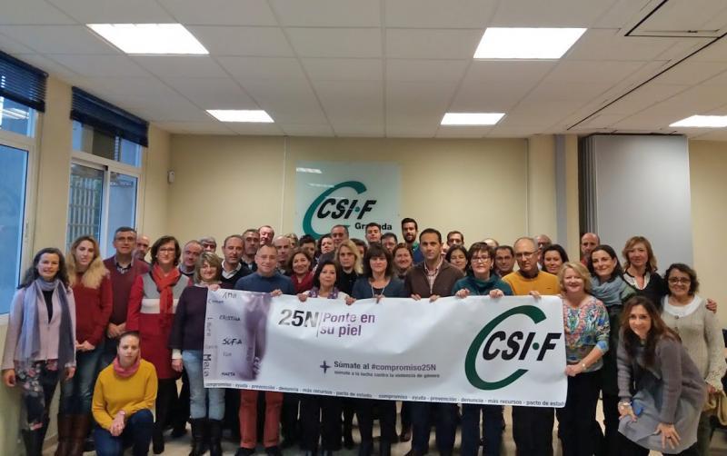 CSIF Granada recuerda que la brecha salarial de género trasciende al sector privado