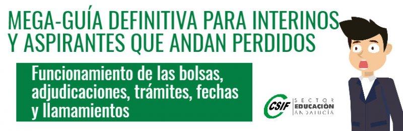 Cómo funcionan las bolsas de interinos docentes de maestros y profesores en Andalucía