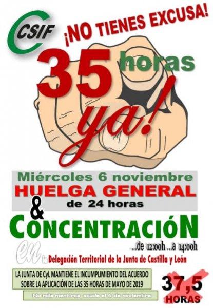 Huelga 6 de noviembre