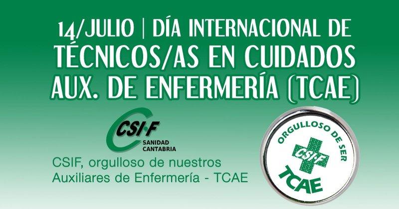 CSIF DIA INTERNACIONAL DEL TCAE