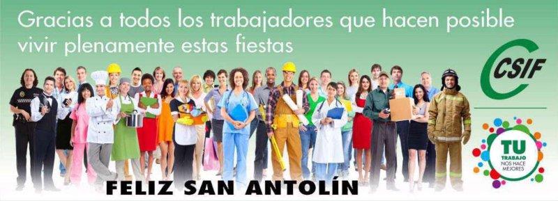 ¡¡¡Feliz San Antolín!!!