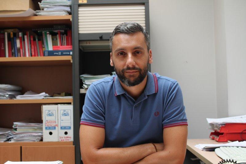 Ignacio Hernández, abogado de los servicios jurídicos de CSIF Comunidad Valenciana