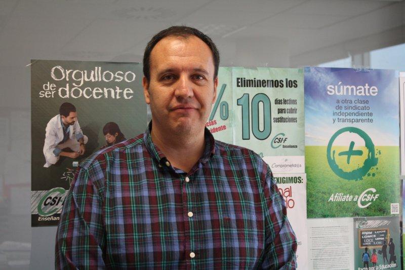 José Seco, delegado CSIF Educación Comunidad Valenciana