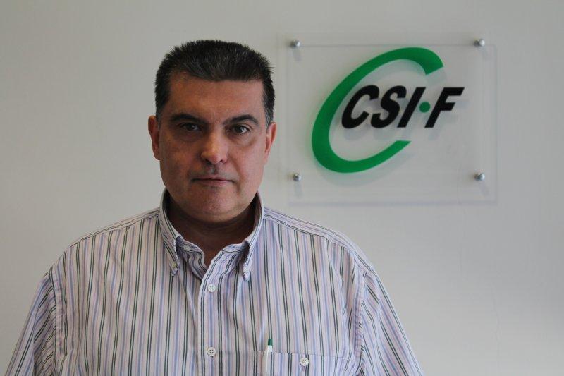 Fernando García, presidente provincial de CSIF Sanidad Valencia