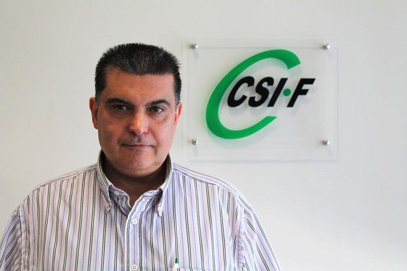 Fernando García, presidente de CSIF provincia de Valencia