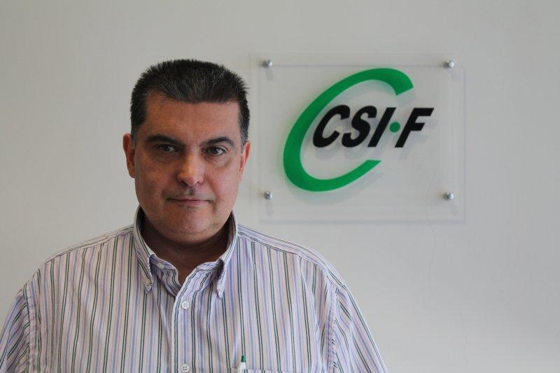 Fernando García, delegado de CSIF Sanidad Comunidad Valenciana