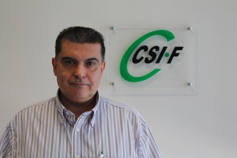 Fernando García, portavoz de Sanidad de CSIF Comunidad Valencian