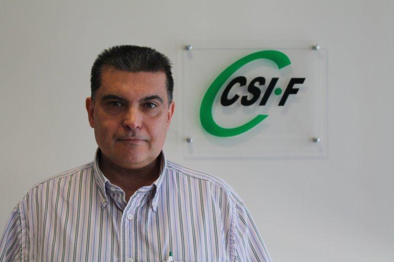 Fernando García, delegado del sindicato CSIF en el hospital Doctor Moliner