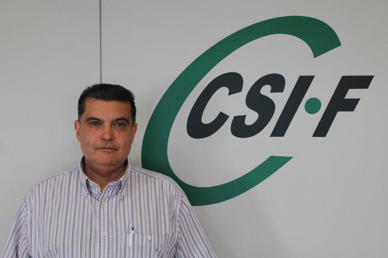 Fernando García, delegado de CSIF en el departamento Arnau-Llíria