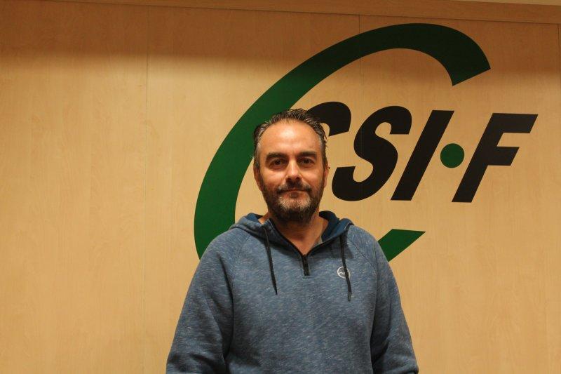 Bruno Antuña, delegado de CSIF Justicia Valencia