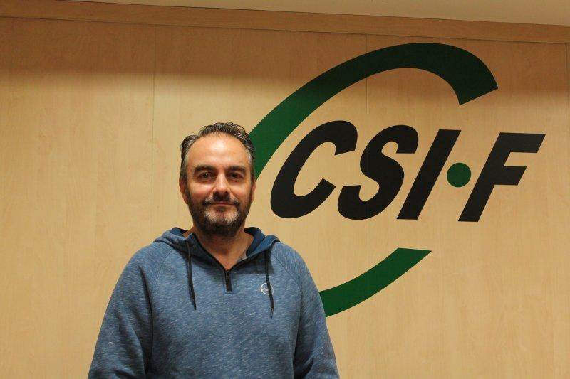 Bruno Antuña, secretario general de CSIF Justicia Comunidad Valenciana