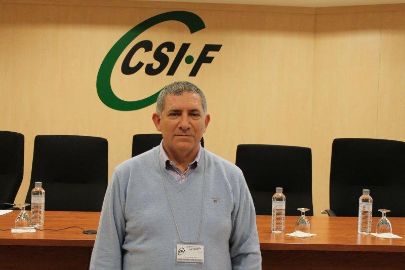 Francisco Peñalosa, presidente autonómico de CSIF Administración Local Comunidad Valenciana