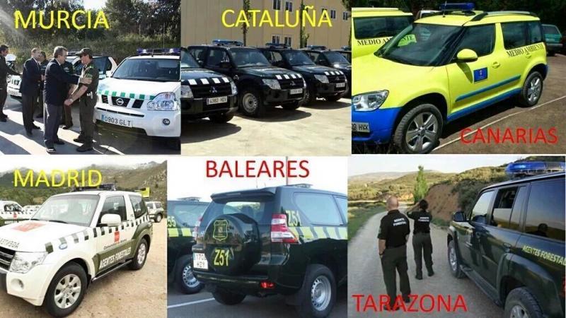 Ejemplos de varias CCAA y Administraciones
