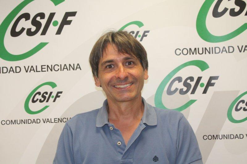 Artemio Almonacid, presidente autonómico de CSIF Educación Comunidad Valenciana
