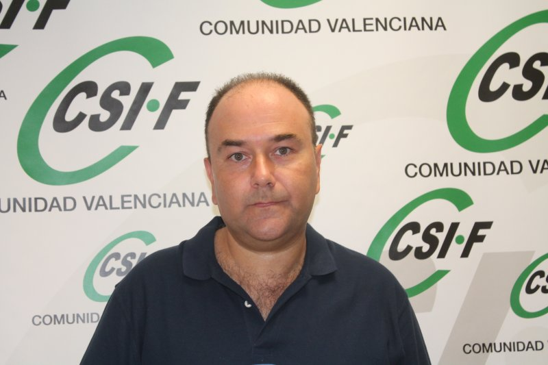 Ezequiel Archilla, presidente de CSIF AGE Comunidad Valenciana