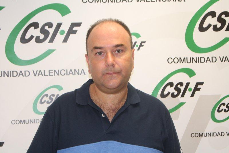 Ezequiel Archilla, vicepresidente de CSIF AGE provincia de Valencia