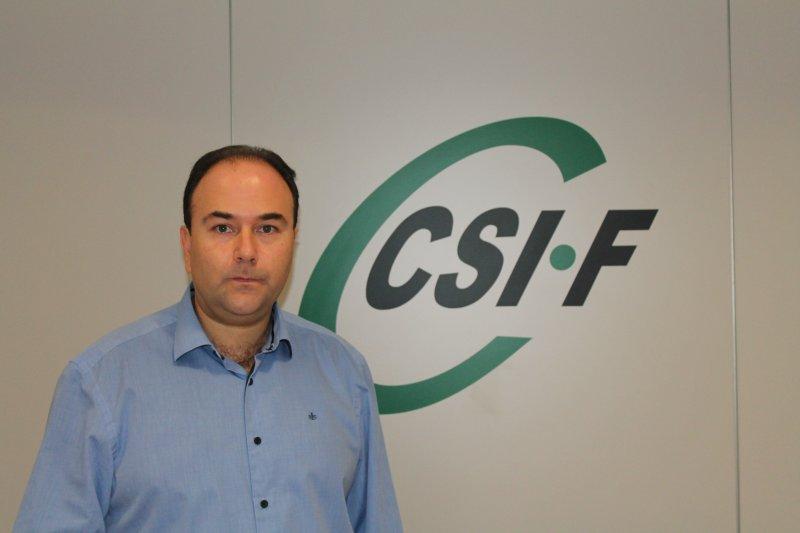 Ezequiel Archilla, vicepresidente de CSIF Administración General del Estado Comunidad Valenciana