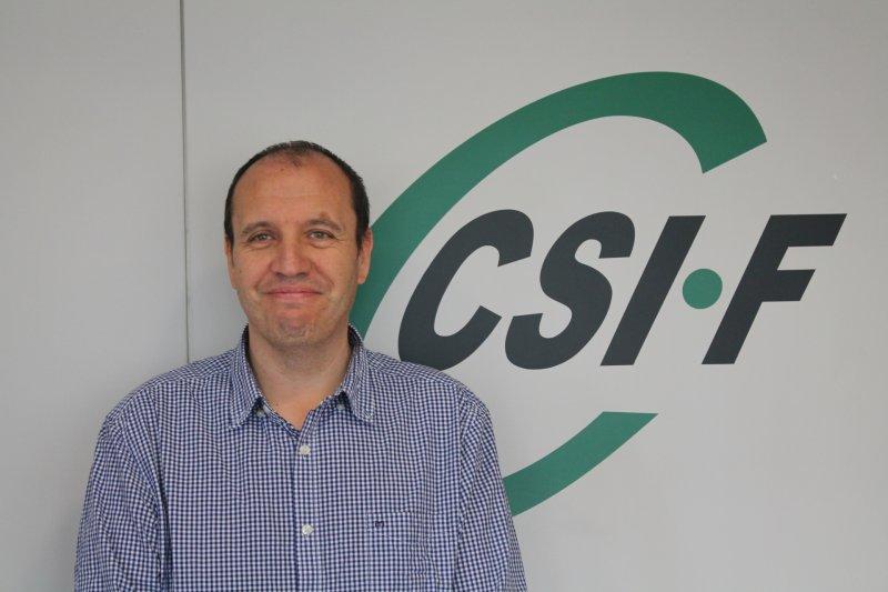 José Seco, portavoz de CSIF en la Mesa Sectorial de Educación