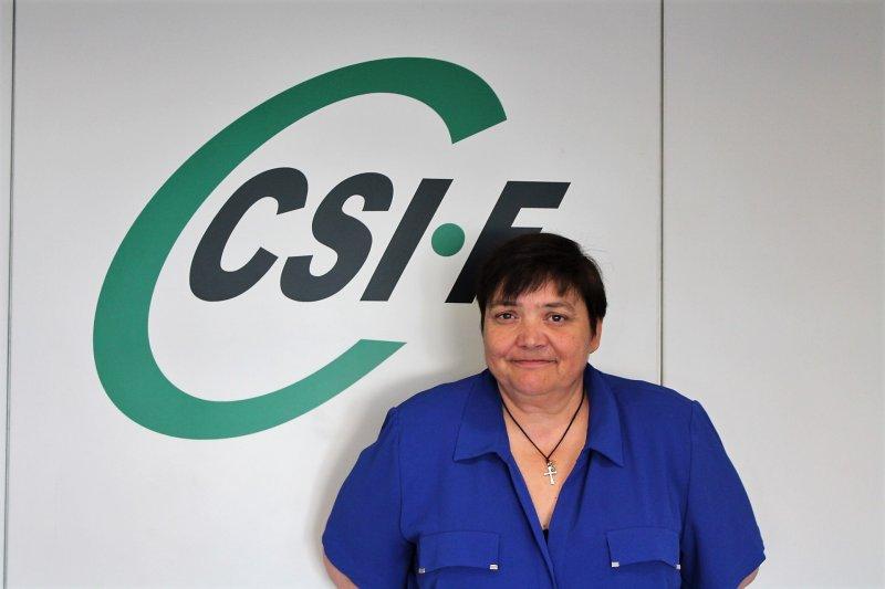 Ruth López, secretaria de la sección sindical de CSIF en Divalterra y presidenta del comité de empresa