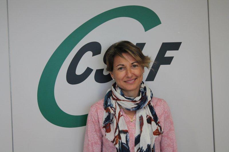 Maite Alcalá, delegada de CSIF en el departamento de salud Clínico-Malvarrosa
