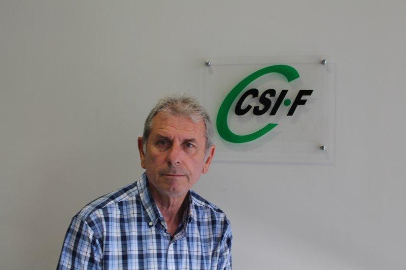 Juan Ramón Capilla, delegado de CSI·F Empresa Privada